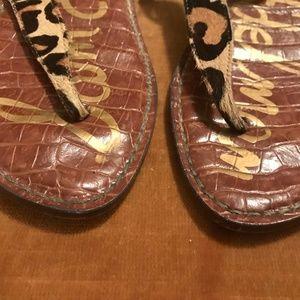 948c35c32 Sam Edelman Shoes - Sam Edelman Leopard Print Gigi Sandals